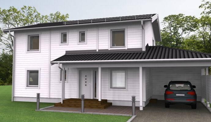 Bild: 6 rum villa på Odens väg, Valhallavägen (143), Laholms kommun Allarp