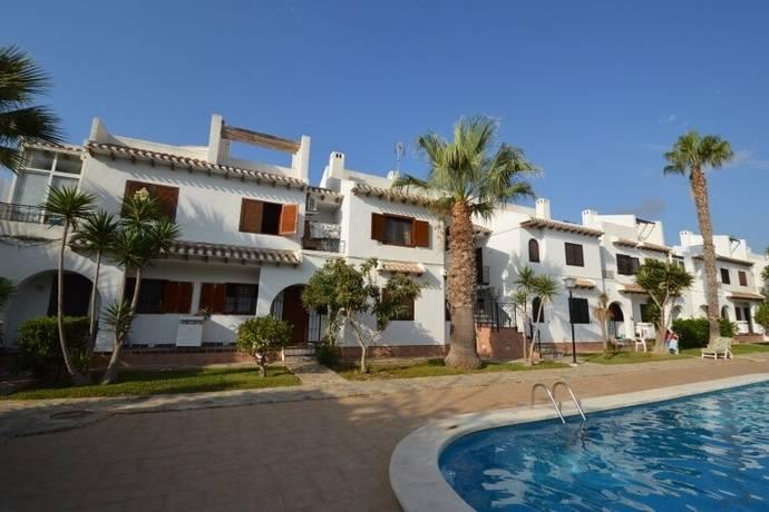 Bild: 2 rum bostadsrätt på Pool / Parkering / Terrass, Spanien 2:a vid stranden