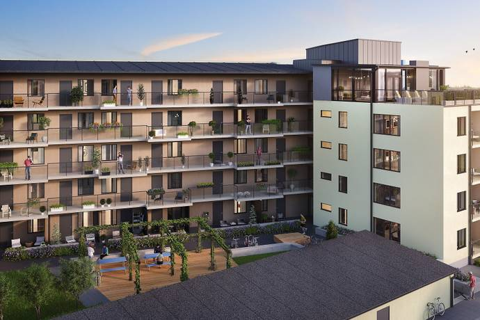 Bild: 2 rum bostadsrätt på Bataljonsgatan 25, Linköpings kommun Södra Ekkällan