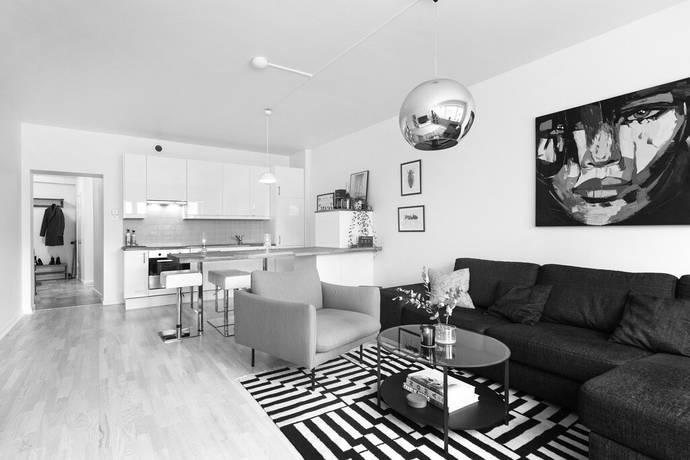 Bild: 2 rum bostadsrätt på Skvadronsgatan 9 A, Malmö kommun Ribersborg / Slottsstaden
