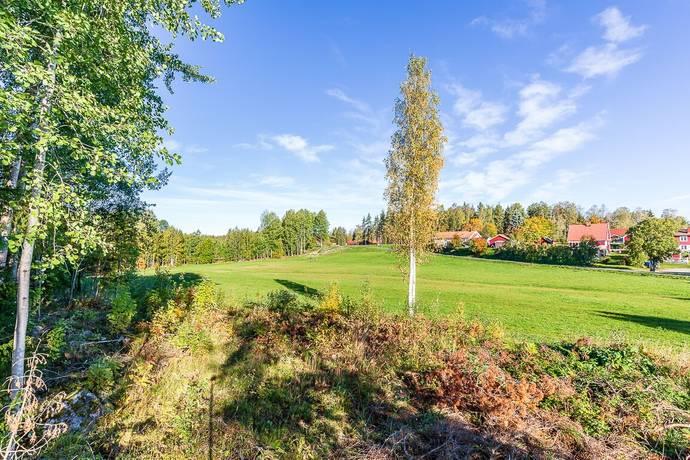 Bild: tomt på Tomtbackavägen, Gävle kommun Valbo