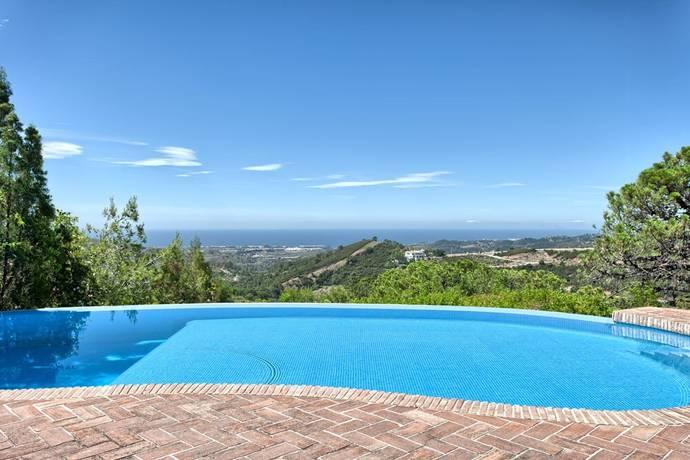 Bild: 6 rum villa på Fantastisk villa med härlig vy!, Spanien Benahavis