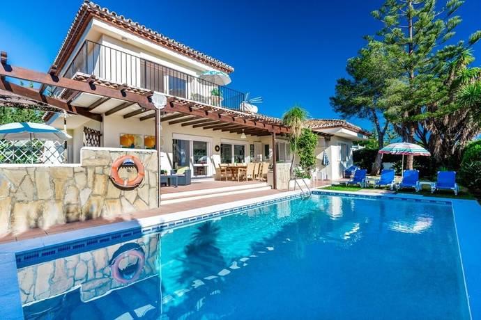 Bild: 6 rum villa på Fin mysig villa till bra pris, Spanien Marbella - El Paraiso