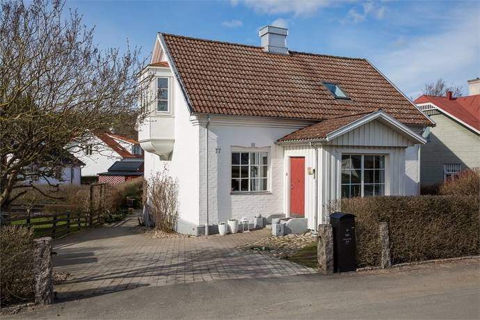 Bild: 6 rum villa på Hammarspyntsvägen 77, Kristianstads kommun Hammarslund