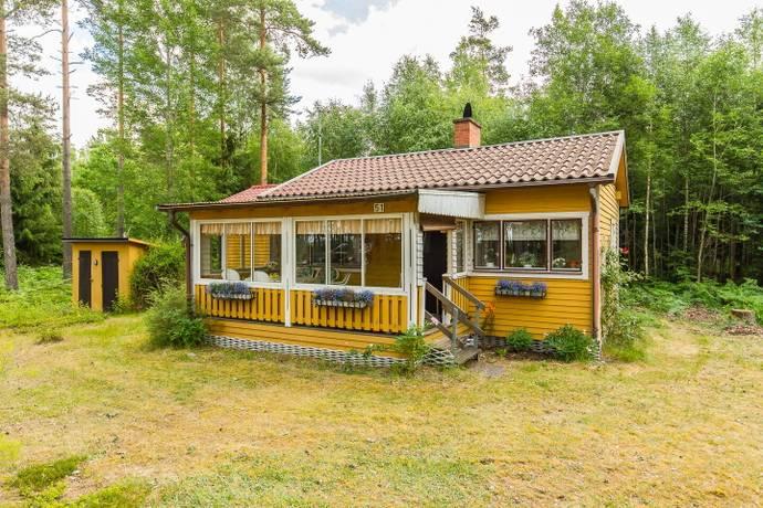 Bild: 3 rum fritidshus på Bengtsgård Kilsviken 51, Kristinehamns kommun Nybble