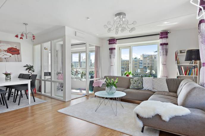 Bild: 3 rum bostadsrätt på Borgarfjordsgatan 21B, Stockholms kommun
