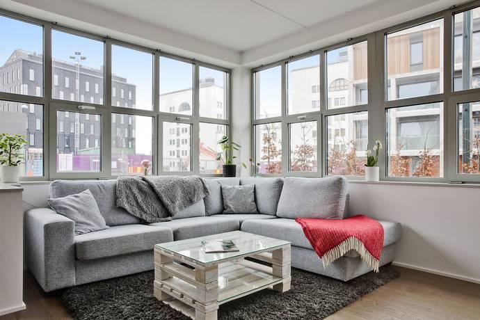 Bild: 2 rum bostadsrätt på Hammarbyterrassen 10, Stockholms kommun Hammarby Sjöstad