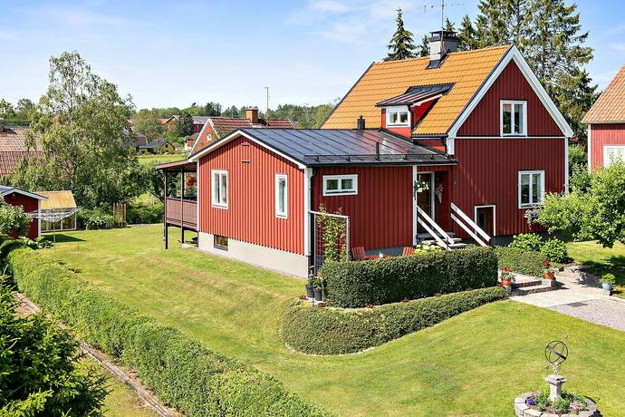 Bild: 4 rum villa på Trädgårdsvägen 4, Valdemarsviks kommun Ringarum