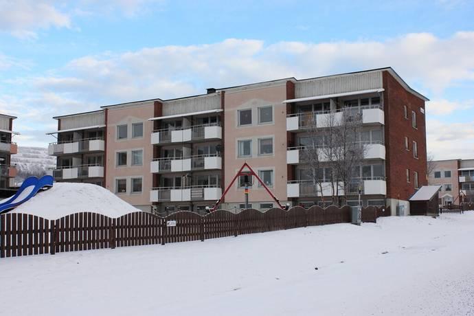 Bild: 2 rum bostadsrätt på Dübengatan 31B vån.3, Kiruna kommun Luossavaara