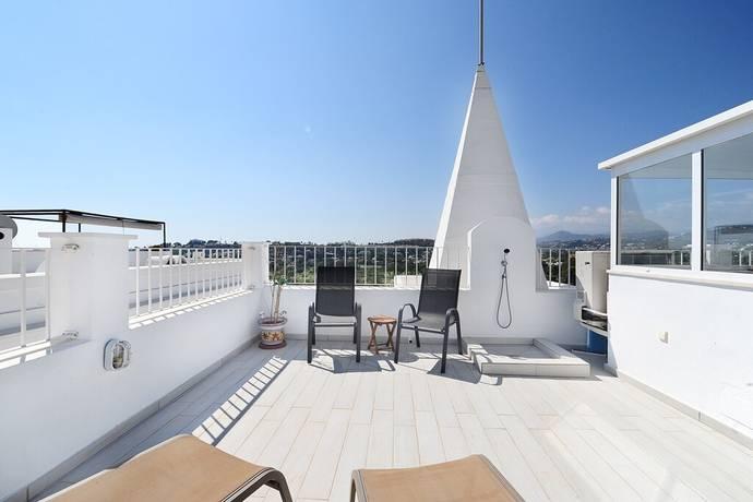 Bild: 3 rum bostadsrätt på Penthouse i Aloha Pueblo med takterrass och panoramavy!, Spanien Marbella- Nueva Andalucia