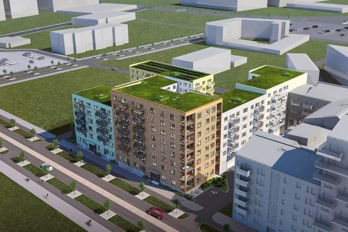 Bild: 3 rum bostadsrätt på Lilla Varvsgatan, Malmö kommun Västra hamnen