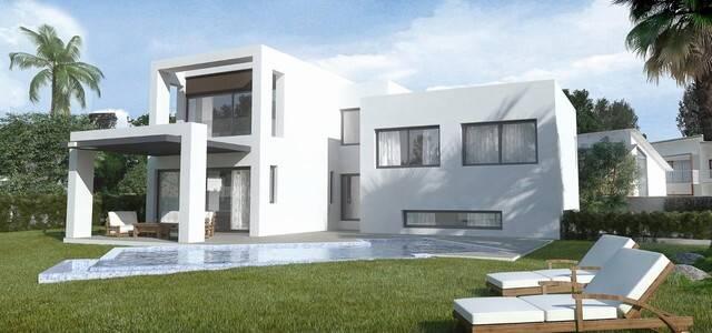 Bild: 4 rum villa på Villa i Estepona, Málaga, Spanien El Paraiso Alto