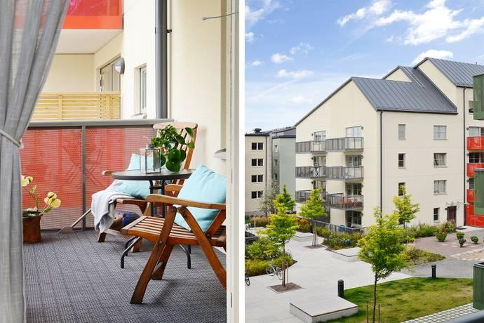 Bild: 2 rum bostadsrätt på Stig Lindbergs Gata 8 3Tr, Värmdö kommun Gustavsbergs Hamn