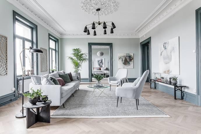 Bild: 4 rum bostadsrätt på Vasagatan 33, Göteborgs kommun Vasastaden