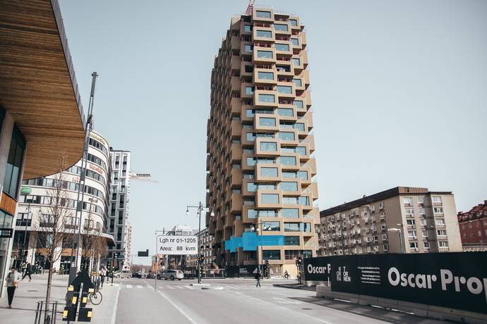 Bild: 4 rum bostadsrätt på Torsplan 8, plan 2 - Norra Tornen, Stockholms kommun Hagastaden Vasastan