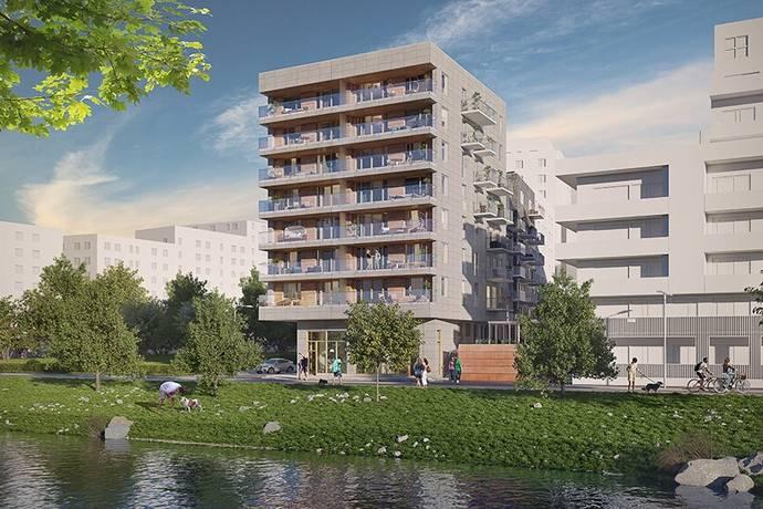 Bild från Norra Djurgårdsstaden - Broparken