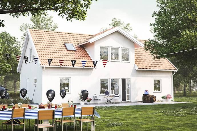 Bild: villa på Gretas Väg 18, Höörs kommun Åkersberg