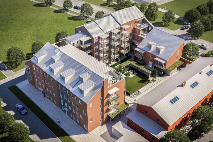 Bild: bostadsrätt på Brf Sockerstan, Staffanstorps kommun Sockerstan