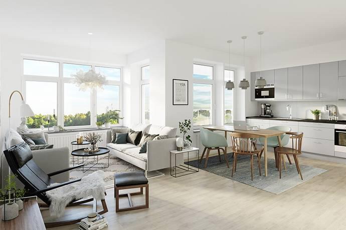 Bild: 4 rum bostadsrätt på Stora Törnekvior 13A, Gotlands kommun Visby
