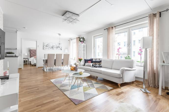 Bild: 2 rum bostadsrätt på Våtmarksvägen 33, Solna kommun Järvastaden