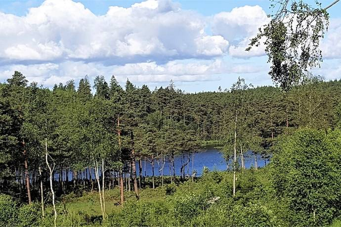 Bild: tomt på Buatjärnsvägen 32, Härryda kommun Härryda