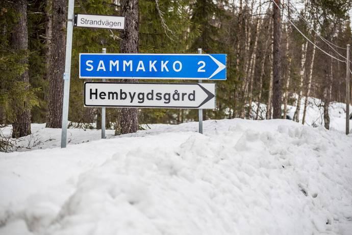 Bild: tomt på Sammakko 7:34, Gällivare kommun