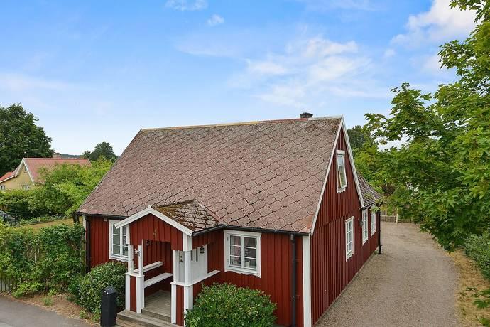Bild: 3 rum villa på Badhusvägen 4, Åstorps kommun Kvidinge