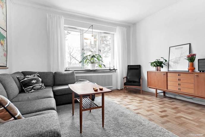 Bild: 2 rum bostadsrätt på Hökmossevägen 7, Stockholms kommun Hökmossen/Telefonplan