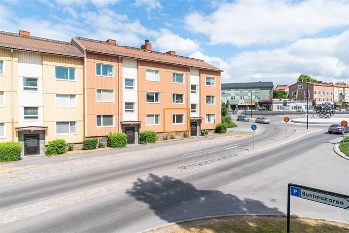 Bild: 2 rum bostadsrätt på Drottninggatan 22A, 1 vån, Motala kommun CENTRUM