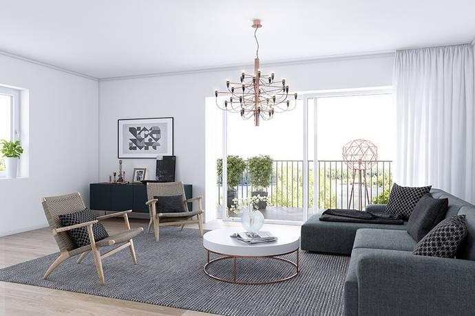 Bild: 3 rum bostadsrätt på Trummens Strand, Växjö kommun Trummens Strand