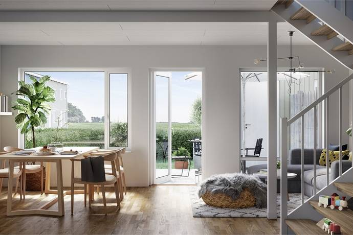 Bild: 5 rum bostadsrätt på Svea Olofssons väg, Trelleborgs kommun Skegrie