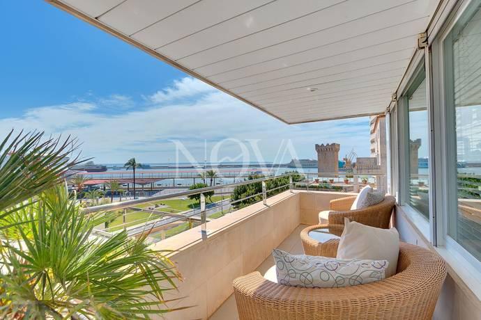 Bild: 200 m² bostadsrätt, Spanien Paseo Marítimo, Palma