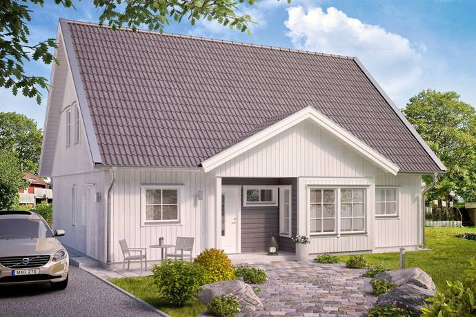 Bild: 3 rum villa på Almunge-Gränby 322, Uppsala kommun Almunge