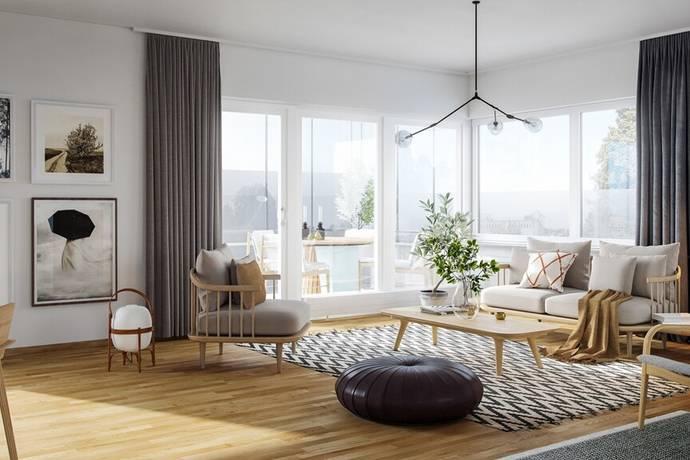 Bild: 3 rum bostadsrätt på Vendergatan 19, Kungälvs kommun