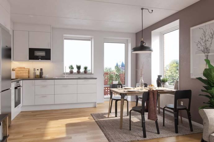 Bild: 1 rum bostadsrätt på Margit Halls Gata, Göteborgs kommun Kviberg