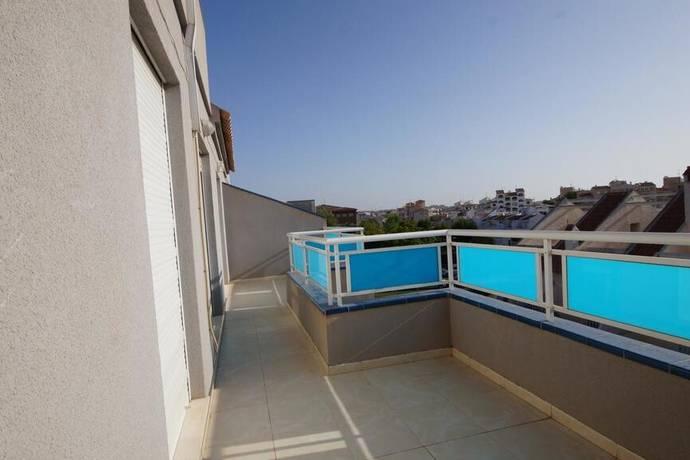 Bild: 3 rum bostadsrätt på Stor terrass / Centralt, Spanien Takvåning i Torrevieja