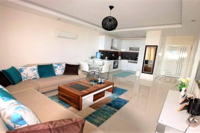 Bild: 2 rum bostadsrätt på Alanya Kestel Lale 1 id 3692, Turkiet Kestel