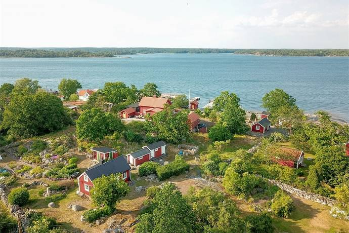 Bild: 3 rum fritidshus på Matvikshamnsvägen 625-69, Karlshamns kommun
