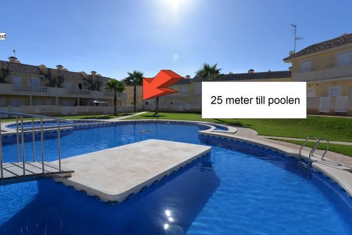 Bild: 3 rum radhus på Fräscht radhus med takterrass, Cabo Roig, Spanien Orihuela Costa / Costa Blanca