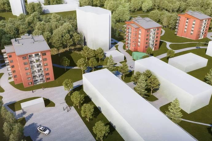 Bild: 4 rum bostadsrätt på Mejramgatan 18, Göteborgs kommun Övre Lövgärdet, Angered