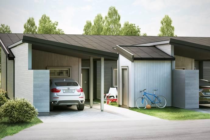 Bild: 3 rum radhus på Lunnagårdsvägen, Eksjö kommun Eksjö