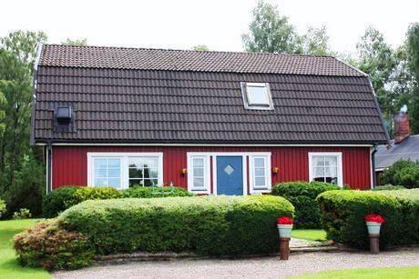Bild: gård/skog på Svenshult, Laholms kommun