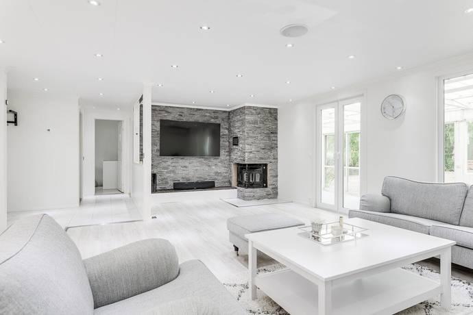 Bild: 3 rum villa på Hjortvägen 9, Halmstads kommun Haverdal