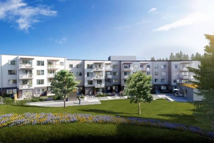 Bild: 2 rum bostadsrätt på Kanalvägen 14, Täby kommun Roslags-Näsby