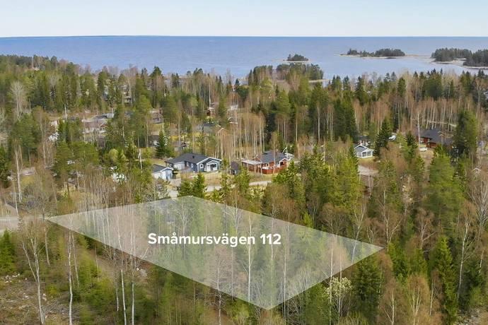 Bild: tomt på Småmursvägen 112, Gävle kommun Säljemar