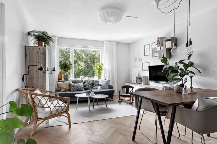 Bild: 3 rum bostadsrätt på Delbancogatan 11A, Mölndals kommun Enerbacken