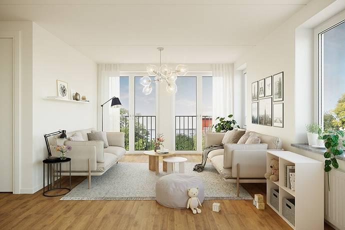 Bild: 2 rum bostadsrätt på Forskargränd, Sundbybergs kommun Ursvik
