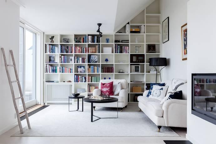 Bild: 5 rum bostadsrätt på Danderydsgatan 25, Stockholms kommun Östermalm - Lärkstan