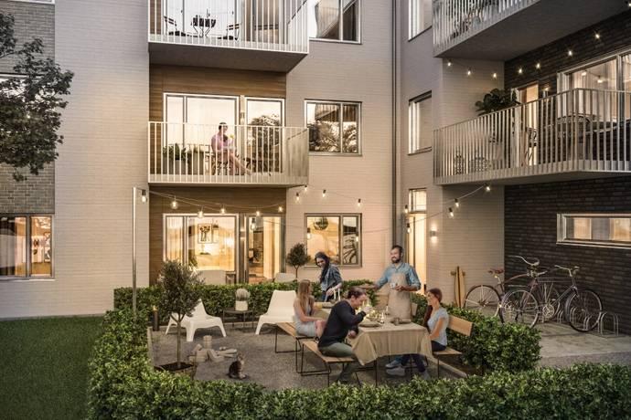 Bild: 1 rum bostadsrätt på Elsa Anderssons Gata, Malmö kommun Bulltofta Friluftsstad