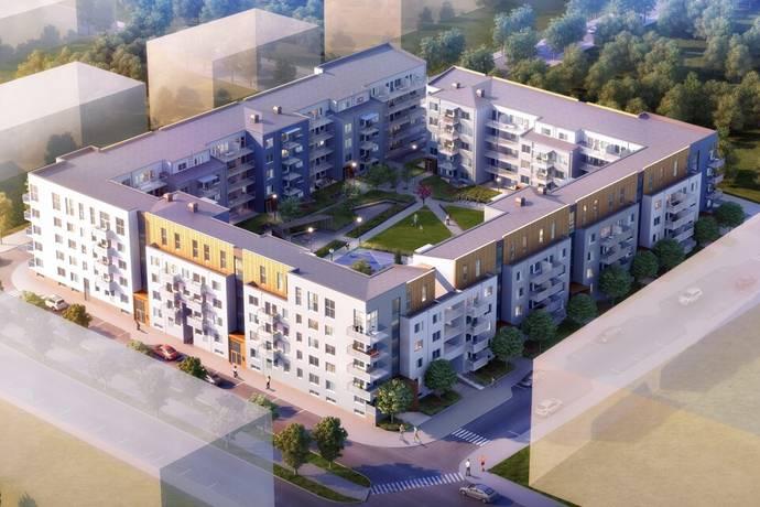 Bild: 2 rum bostadsrätt på Lansengatan 7, Järfälla kommun Barkarbystaden